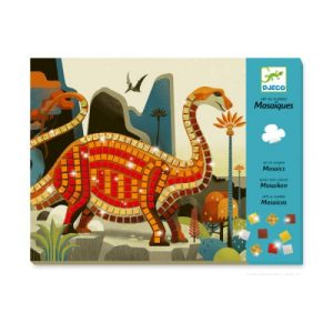 Mosaïque Dinosaures