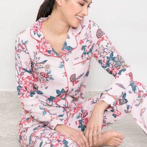 Veste de pyjama Smarty nude