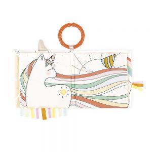 livre éveil la licorne joyeuse