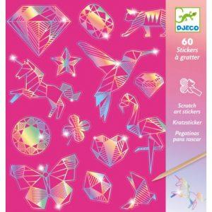 stickers à gratter diamond