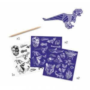 stickers à gratter iron