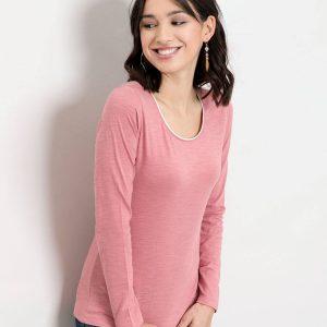 T-shirt Eria vieux rose 1