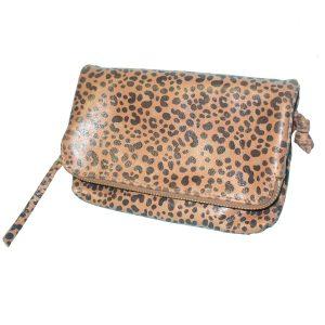 Pochette sarf léopard