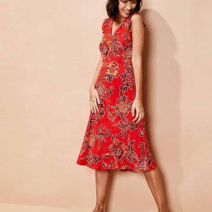 robe coriandre afrobeat roux