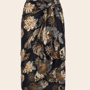 sarong idoine black