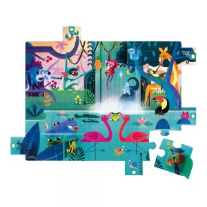 Puzzle surprises Jungle 20 pièces