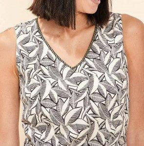 robe ajustée coton alègre