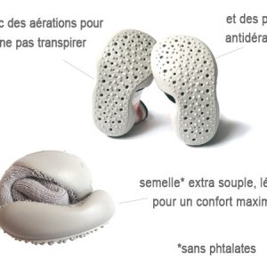 chaussons ariel