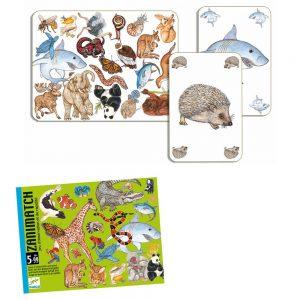 jeu de cartes zanimatch