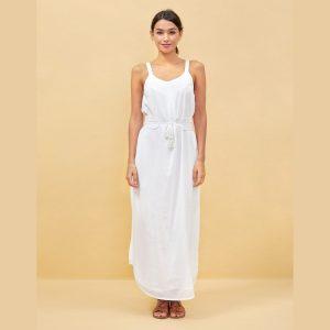 robe baradi blanc